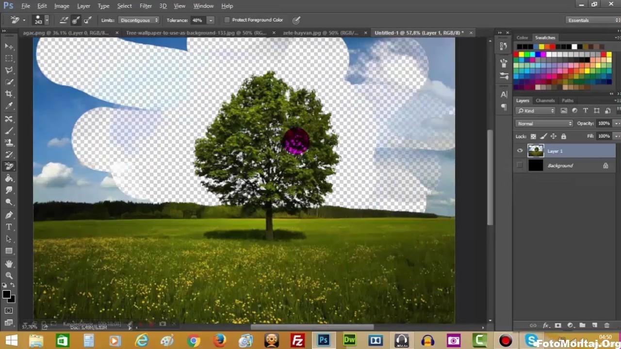 Photo of Photoshop ile arka plan silme dekupe işlemi nasıl yapılır
