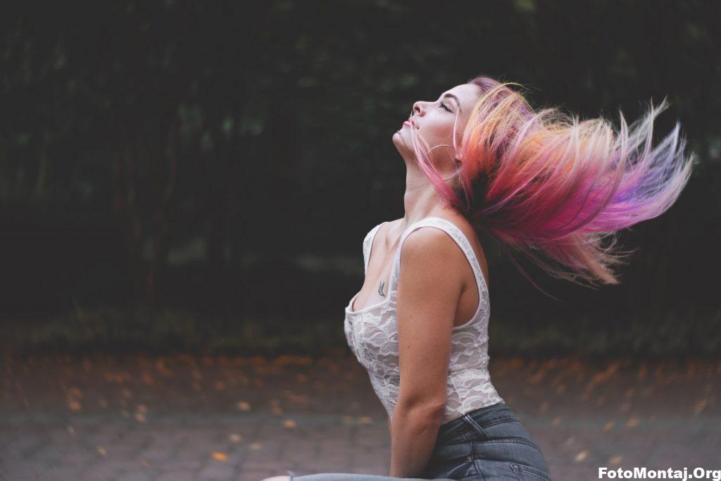 photoshopta saç rengi değiştirme