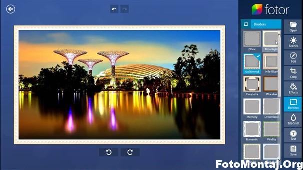 Fotor Photo Editör Kullanımı