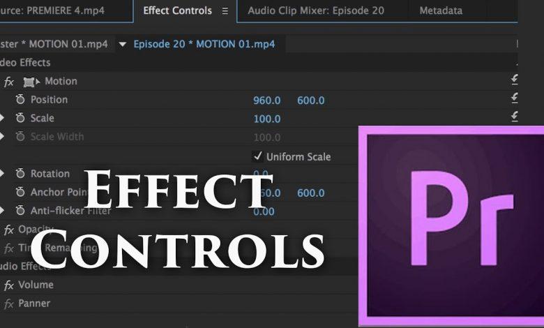 Adobe Premiere Pro Effect Paneli