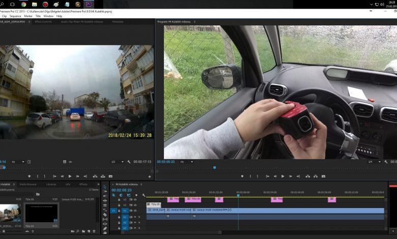 Adobe Premiere Pro Farklı Videoları Birleştirmek