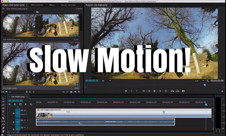 Adobe Premiere Pro Slow Motion Yapmak
