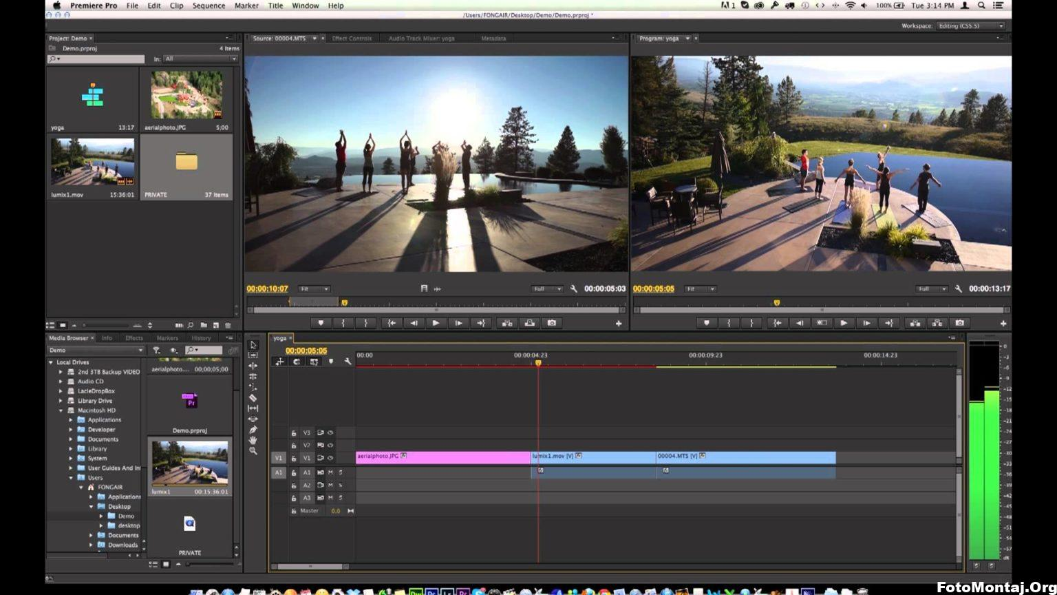 Adobe Premiere Pro Video Birleştirme