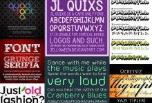 Photo of En İyi Ücretsiz Font İndirme Siteleri